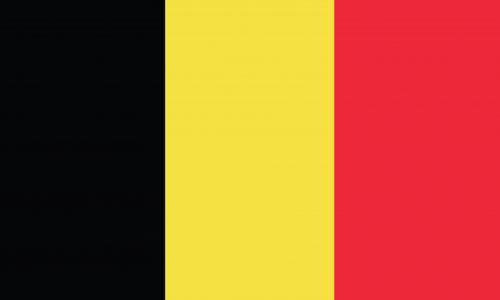 Im Bild: Belgien Flagge