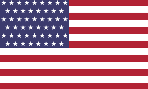 Im Bild: USA Flagge