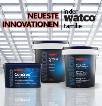 Die neuesten Watco Produkte im Überblick