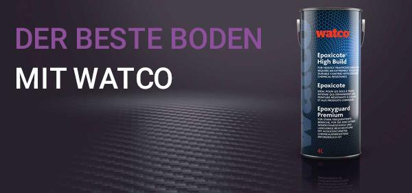 Alle Watco-Produkte wurden entwickelt, um jederzeit erstklassige Ergebnisse zu erzielen. Für den besten Watco-Boden empfehlen wir jedoch, dieser Anleitung zu folgen.