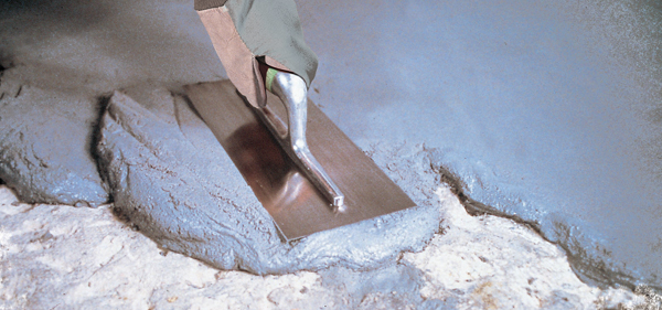 Boden bei Kälte reparieren