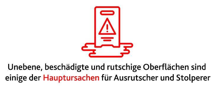 Im Bild ein Schild mit Warnzeichen