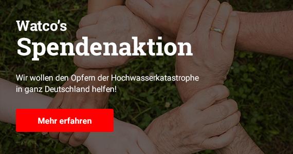 Mit unserer Spendenaktion wollen wir den Opfern der Hochwasserkatastrophe beim Wiederaufbau helfen. Im Bild: ein Kreis einander  festhaltender Hände
